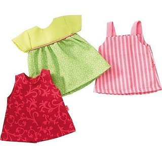 Cotton Polyester-doll not included, This doll clothes set fits all 12 to 14 inch HABA Dolls-Dress your doll in some fun