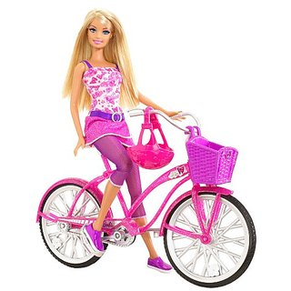 Barbie Glam Bike! Barbie with Glam Bike