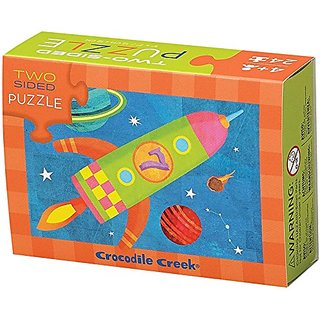 Crocodile Creek 24-pc Two-sided puzzle Solar System