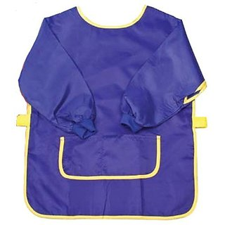Creative Hobbies Long sleeve art smock helps keep kids neat and clean while they create!-Flexible and comfortable light