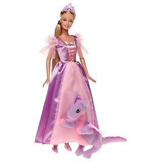 Barbie As Rapunzel Doll