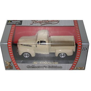 1948 Ford F-1 Pick Up Cream 1 43 Diecast Car Model by Road Signature