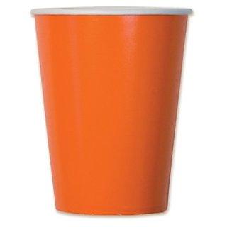 Orange Cups (10 Pkg)