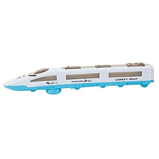 BRC Kids 3-D Dynamic Flash Electric Emu Speed Train Toy