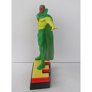Avengers Resin Figures - Vision on Letter Base