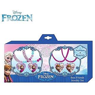 Disney Frozen Necklace and Bracelets Best Friends Jewelry Set