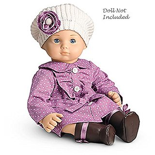 American Girl Bitty Baby Dotty Coat Set for 15