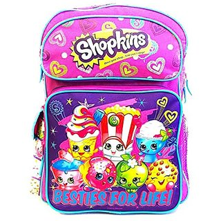 Shopkins Large School Backpack 16