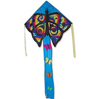 Large Easy Flyer Kite - Tye Dye Butterfly (46