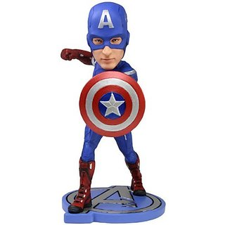 NECA Avengers Movie Captain America Headknocker