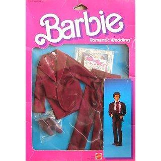 Barbie Fashion KEN Wedding Groom Suit 1986 Mattel