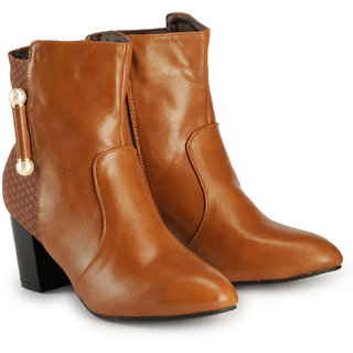 Nell Womens Tan Boots