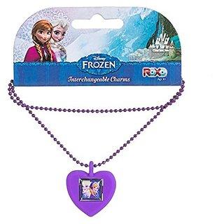 Disney Frozen Anna & Elsa Interchangeable Kids Charm Necklace