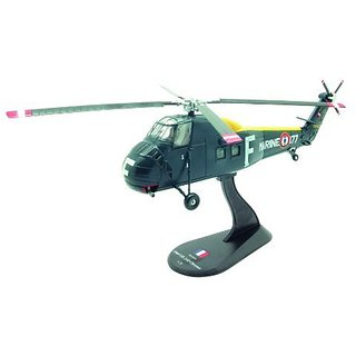 UH-34D Choctaw diecast 1:72 helicopter model (Amercom HY-7)
