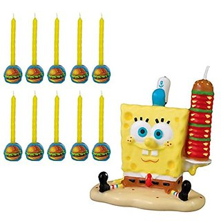Spongebob Candle Set Molded Candles (11 per package)