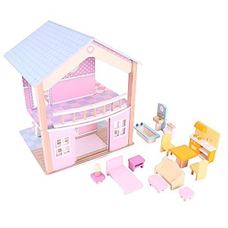 Bigjigs Toys Miami Villa Doll