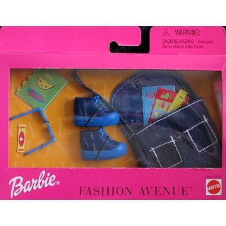 Barbie Fashion Avenue: School Rules Accessories Pack (1999)