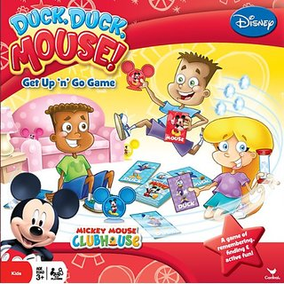 Disney Mickey Mouse Board Game - Duck Duck Mouse! - No Reading Required