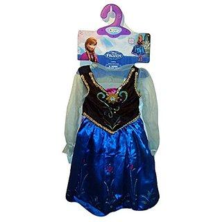 Disney Frozen Anna Dress Costume Wig Small 4 5 6 6x Petticoat Vest