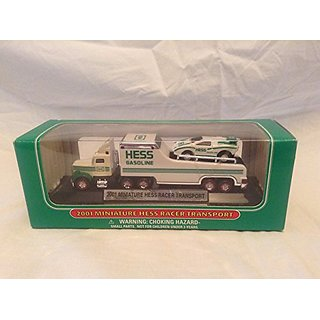 2001 Miniature Hess Racer Transport