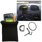 Black Callmate Pouch Mobile Pen Iphone Ipod Holder Mount For Car Ac Vents