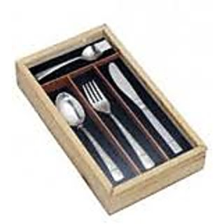 Awkenox Classic Cutlery Stainless Steel 24pc Set