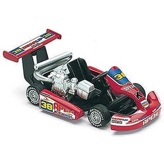Turbo Die Cast 5-inch Go Kart with Pullback Action - Assorted Colors