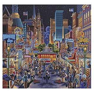 Dowdle Folk Art Puzzles - Nashville Puzzle, 500 Pieces