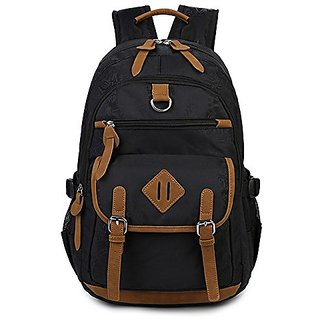 Abshoo Classical Casual Laptop Backpack for College School Bookbag (Black)
