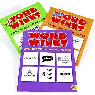 Word Winks Puzzle Books _ Three Volume Set