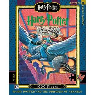 New York Puzzle Company - Harry Potter Prisoner of Azkaban - 1000 Piece Jigsaw Puzzle