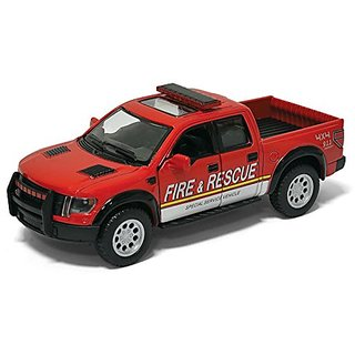 2013 Ford F150 SVT Raptor Supercrew (Fire & Rescue) 1:46 Scale