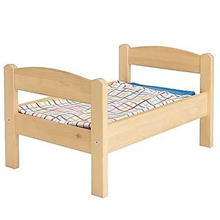 Doll Bed with Bedlinen Set