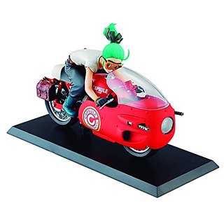 Megahouse Dragon Ball Z: Bulma Real McCoy Desktop Statue (Red Version)