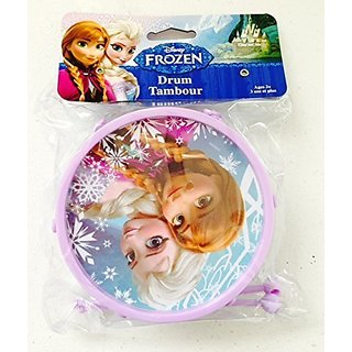 Disney Frozen Music Toy Gift for Kids - Frozen Toy Drum 2 Inches X 4.75 Inches