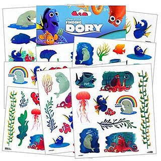 Disneys Finding Dory Temporary Tattoos 75 ct.