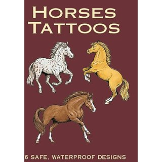 Dover Publications-Horses Tattoos