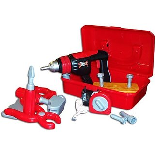 Tool Box with Electric Drill