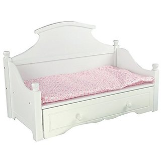 24.5L 10.5D 13.5W when assembled.-includes two soft mattresses for a good nights sleep.-Pull out the trundle to make it