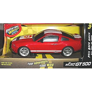 Adventure Wheels Ford Shelby GT500 Pull Back Racer with Lights and Sounds