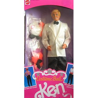 1990 Costume Ball Ken Barbie Doll
