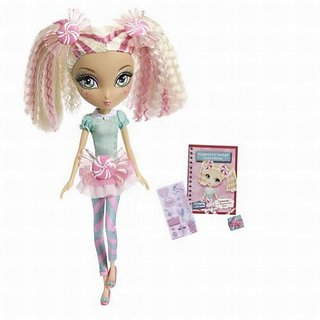 La Dee Da Sweet Party Cyanne as Peppermint Pose 12 inch Doll