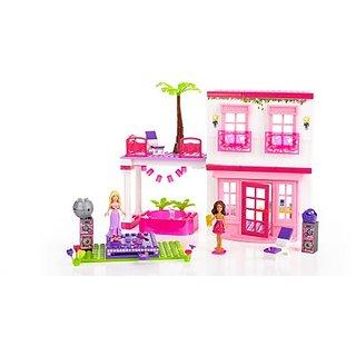 Barbie Mega Bloks Build n Play Mega Beach House