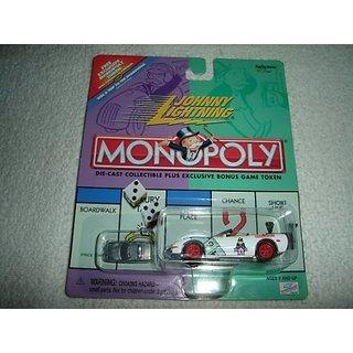 Johnny Lightning Monopoly Modern Monopoly Corvette