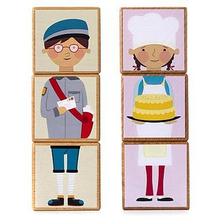 Features 12 bright and colorful characters-Encourages development of fine motor skills, language and sequencing-Fosters