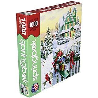 Springbok Holiday Mail 1000 Piece Jigsaw Puzzle