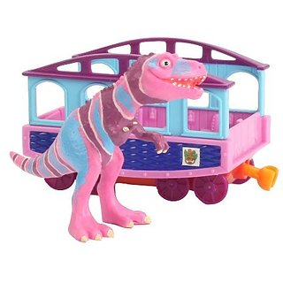 Based on the Jim Henson PBS show, The Dinosaur Train-Collect all your favorite Dinosaur Train Characters-Plastic collec