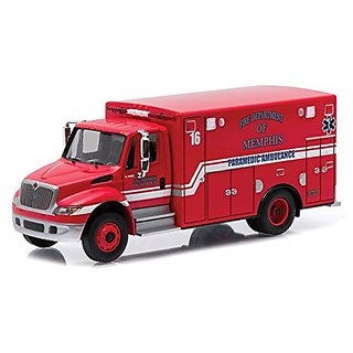 2013 International Durastar Ambulance Memphis, Tennessee HD Trucks Series 5 1 64 by Greenlight 33050A
