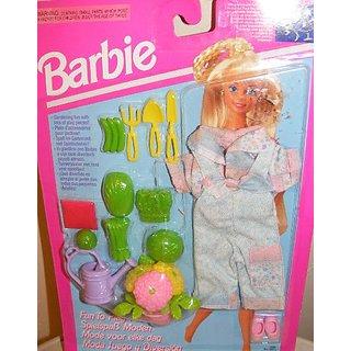 Barbie Fun to Play Garden Fashion (1993) Rare
