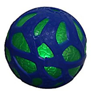 Reactorz Light-Up Micro Gripz Ball, Blue